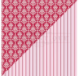 Papier double 30x30 'Authentique - Sweeheart' Sweeheart Five