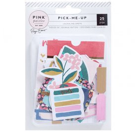 25 Die-cuts 'Pink Paislee - Pick Me Up' Journaling