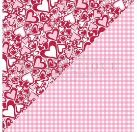 Papier double 30x30 'Authentique - Sweeheart' Sweeheart One