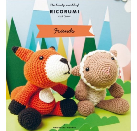 Livre 'Rico Design' Ricorumi Friends