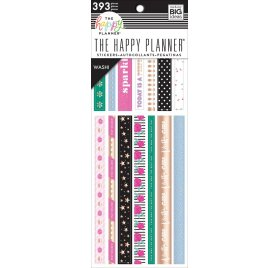 393 autocollants washi 'Me & My Big Ideas - The Happy Planner' Girly