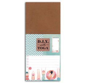 Bloc notes 8x18.5 cm 'Toga - DIY' Baigneuses To do list