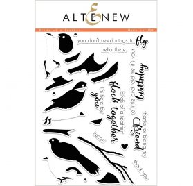 Tampons transparents 14.8x25 cm 'Altenew' Birds of a Feather
