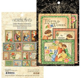 32 Cartes 10x15 et 7.5x10 cm 'Graphic 45 - Little Women'