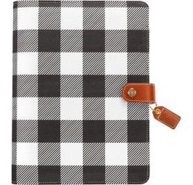 Organiseur A5 Personal Planner 'Webster's Pages - Color Crush' Buffalo Plaid  (vide)