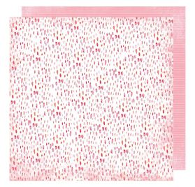Papier double 30x30 'Heidi Swapp - Pineapple Crush' Coral Reef