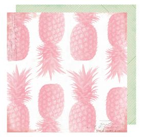 Papier double 30x30 'Heidi Swapp - Pineapple Crush' Pineapple Crush