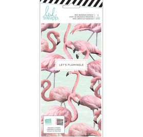 Lot de 16 cartes 'Heidi Swapp' Let's Flamingle