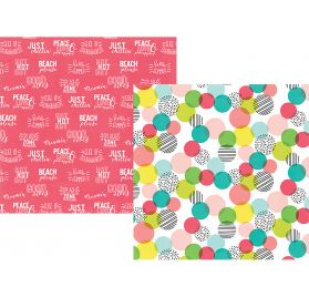 Papier double 30x30 'Simple Stories - Hello Summer' Best Day Ever