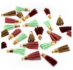 24 mini pompons 'Florilèges Design' Gypsy Forest