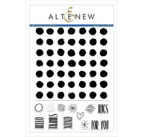 13 Tampons transparents 'Altenew' Watercolor Dots
