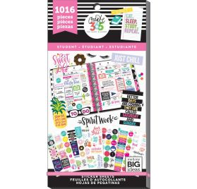 Bloc d'autocollants pour étudiant 'Me & My Big Ideas - The Happy Planner' Sweet Life Qté 1016
