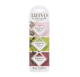 Pack de 3 Encres 'Nuvo - Diamond Hybrid Ink' Rose Garden