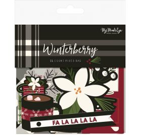 56 Die-cuts 'My Mind's Eye - Winterberry'