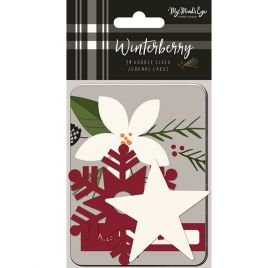 24 Cartes 'My Mind's Eye - Winterberry'