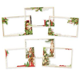 6 Cadres transparents  'Simple Stories - Simple Vintage Christmas' 4 x6