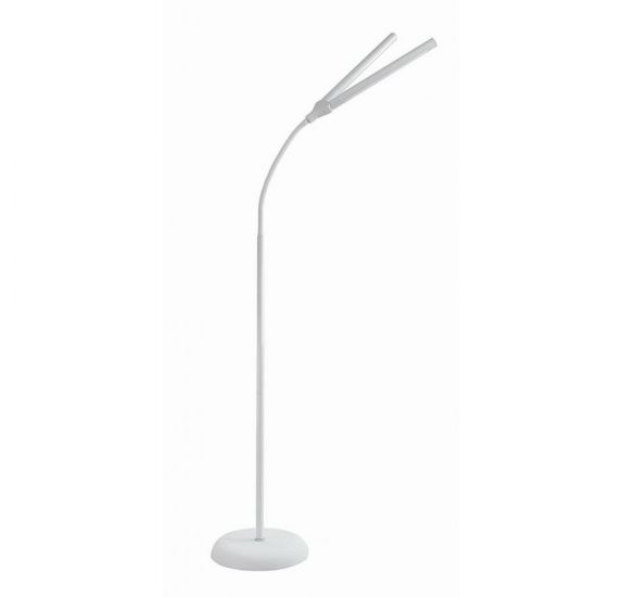 Lampe sur pied Duo 'Daylight' Blanche