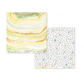 Papier double 30x30 'Studio Forty -  Magic Fall' Enchanted/Free Fallin