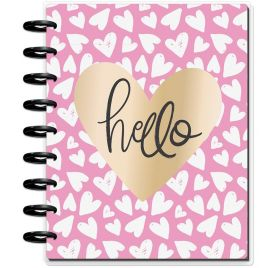 Organiseur moyen pour étudiant 'Me & My Big Ideas - The Happy Planner' Hello Heart (Août 2018-Juillet 2019)