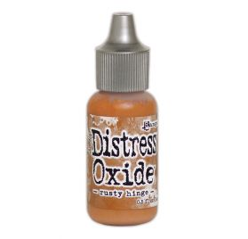 Recharge Encre Distress 'Tim Holtz - Distress Oxide' Rusty Hinge 14 ml
