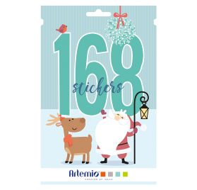 Livret de 168 stickers 'Artemio -My Little Xmas'