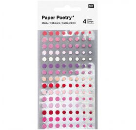 Autocollants 'Rico Design - Paper Poetry' Cercles