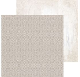 Papier double 30x30 'Kaisercraft - Whisper' Bisque