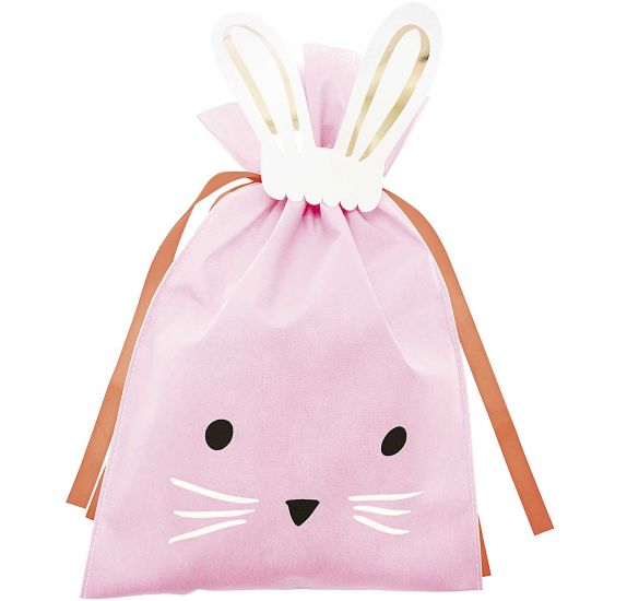 Grand Sac cadeau 'Rico Design' Lapin rose