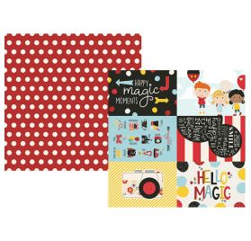 Papier double 30x30 'Simple Stories - Say Cheese 4' 4x6 Elements