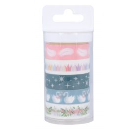 5 masking tapes de 5m 'Artemio -Lovely swan '