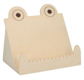 Support Tablette en bois 'Artemio' crocodile