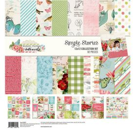 Assortiment 30x30 'Simple Stories -Simple Vintage Botanicals ' Collection Kit