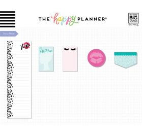 Bloc de 636 autocollants, bloc-notes et notes adhésives  'Me & My Big Ideas - The Happy Planner' Glam Girl