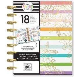 Organiseur 'Me & My Big Ideas - The Happy Planner' Grow Your Own (Juillet 2019-Décembre 2020)