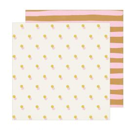 Papier double 30x30 'Crate Paper - Sunny Days' Retreat