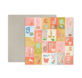 Papier double 30x30 'Pink Paislee - Little Adventurer' 4