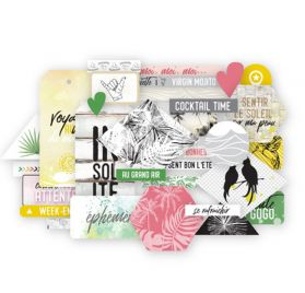 Die-cuts 'Les Ateliers de Karine - Long Courrier'