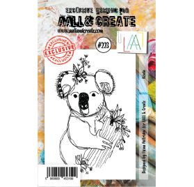 Tampons transparents 'AALL and Create' Koala 223