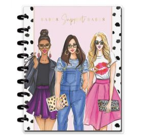 Classic Carnet 'Me & My Big Ideas - Happy Notes' Babes Support Babes