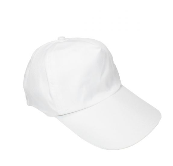Casquette ajustable à customiser  'Feutrines by Sodertex' Blanc 56 cm