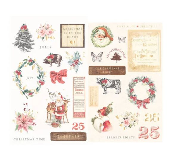 29 Chipboards 'Prima - Christmas in the Country'