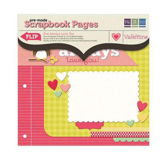 Kit Pages 30x30 - We R Memory Keepers - Owl Always Love You