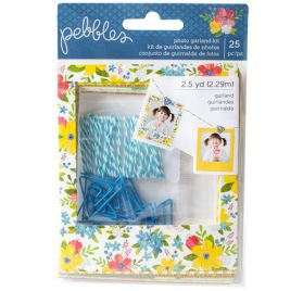Kit de guirlandes de photos 'Pebbles - Home Grown'