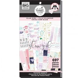 Bloc de 697 autocollants 'Me & My Big Ideas - The Happy Planner Girl' Fille Glamour