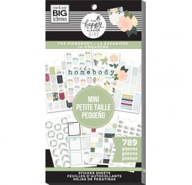 Bloc de 789 autocollants pour mini organiseur 'Me & My Big Ideas - The Happy Planner Girl' The Homebody