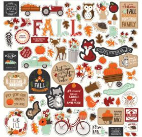 Autocollants 30x30 'Echo Park Paper - My Favorite Fall'