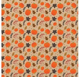 Papier double 30x30 ' Echo Park Paper - My Favorite Fall' Pumpkin Patch