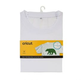 T-shirt blanc Ras du cou 'Cricut-Infusible ink' Taille S