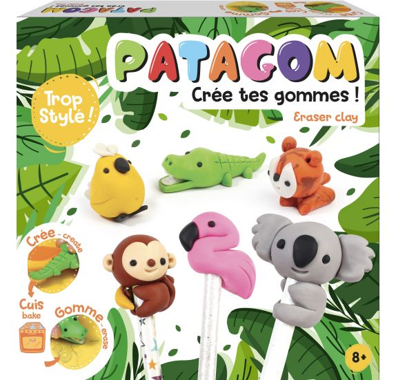 Cofret Patagom 'Graine Créative by DTM' Animaux sauvages