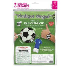 Kit Plastique Dingue 'Graine Créative by PW' Football
